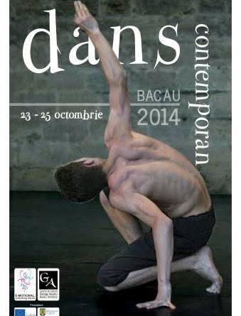 """Jos palaria pentru Festivalul """"Dans Contemporan – Bacau 2014"""""""