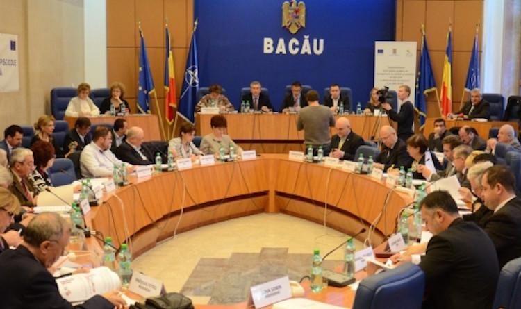 Prima ședința a noului Consiliu Județean Bacau va avea loc miercuri, 6 iulie