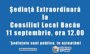 sedinta CL 11 septembrie