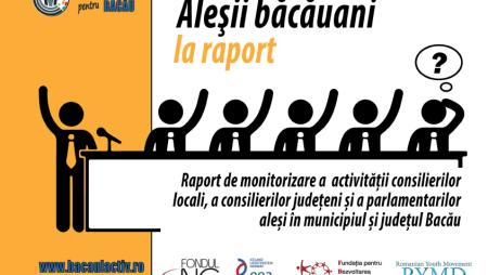 Transparenţa activităţii aleşilor locali şi judeţeni ai Bacăului: numai 4 din cei 56 de consilieri şi-au publicat raportul de activitate pe anul 2015