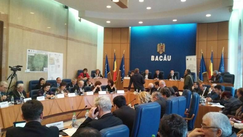 Joi, 16 iunie, Consiliul Județean Bacău se reunește în ședință ordinară
