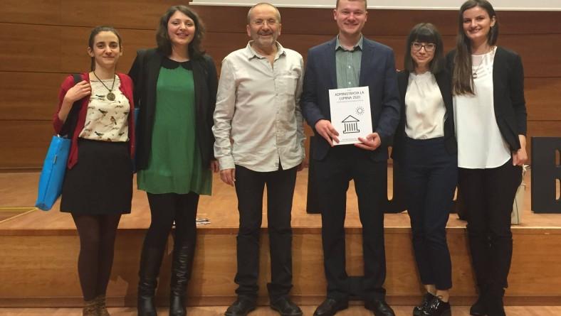 Cetăţenii Activi pentru Bacău aduc Administraţia la lumina zilei! Proiectul nostru, premiat la Gala Premiilor Participării Publice, ediţia a VII-a