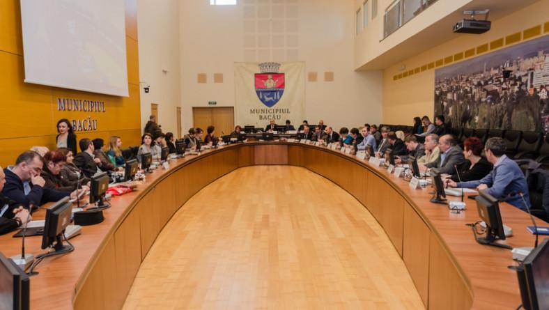 Joi, 23 iunie, se întrunește noul Consiliu Local al municipiului Bacău
