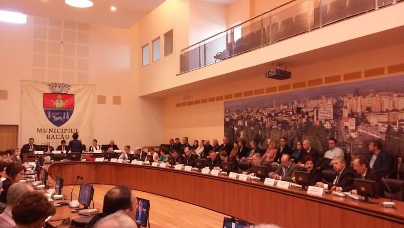 Proiecte aprobate cu majoritate de voturi în ședința extraordinară a Consiliului Local Bacău de marți, 5 aprilie