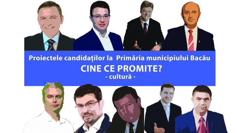 Proiectele candidaților la Primăria Bacău. Ce propun aceștia pentru dezvoltarea vieții culturale a orașului