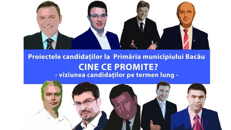 Care este viziunea pe termen lung a candidaților la Primăria municipiului Bacău în ceea ce privește orașul nostru?