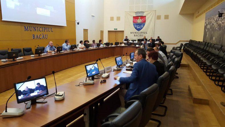 Ședința extraordinară a Consiliului Local Bacău: proiectul de hotărâre pentru acordarea finanțărilor nerambursabile prin Legea 350/2005 nu a fost aprobat nici de această dată