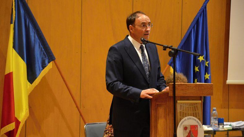 Ședința de constituire a noului Consiliu Județean Bacău: Sorin Brașoveanu, directorul DGASPC, este noul președinte al CJ