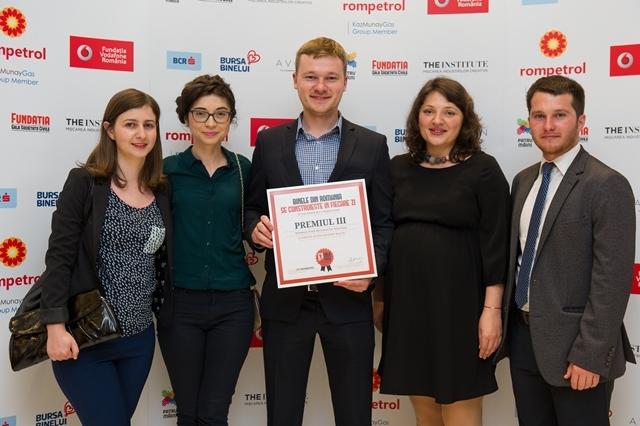 """Proiectul """"Cetățeni Activi pentru Bacău"""", premiat la Gala Societății Civile 2016"""