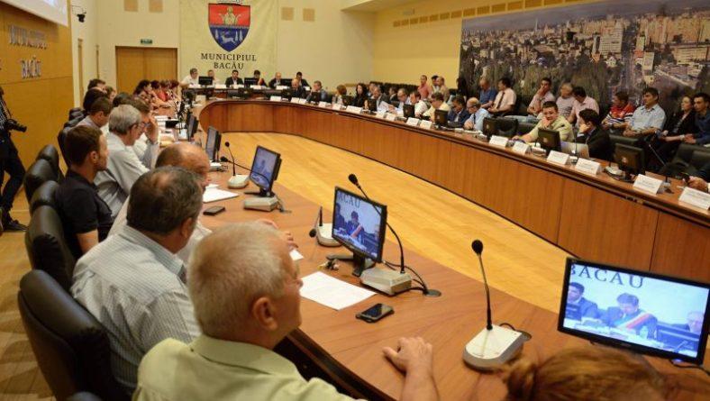 Şedinţa extraordinară a Consiliului Local Bacău de vineri, 8 iulie: proiectele de la Culte şi solicitarea Sport Club Bacău, respinse de la finanțarea nerambursabilă prin Legea 350/2005
