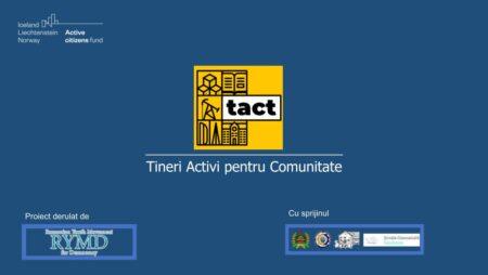 Tinerii băcăuani transformă patru localități în ,,comunități cu TACT''